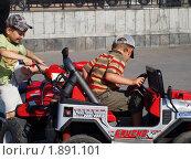Купить «Детское ДТП», фото № 1891101, снято 8 августа 2010 г. (c) Золотовская Любовь / Фотобанк Лори