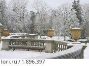 Лестница дворца Тышкевича (музей янтаря в Паланге, Литва) (2010 год). Редакционное фото, фотограф Георгий Солодко / Фотобанк Лори