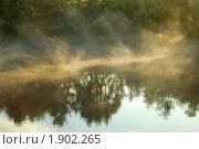 Купить «Туман над рекой», фото № 1902265, снято 16 августа 2009 г. (c) Наталия Евмененко / Фотобанк Лори