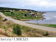 Купить «Небольшая поморская деревня на берегу Белого моря», фото № 1908521, снято 7 августа 2010 г. (c) Валерий Александрович / Фотобанк Лори