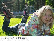 Купить «Задумчивость», фото № 1913993, снято 18 июня 2010 г. (c) Антон Корнилов / Фотобанк Лори