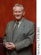 Генрих Боровик (2009 год). Редакционное фото, фотограф Вадим Тараканов / Фотобанк Лори