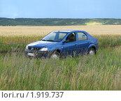 Автомобиль в поле (2009 год). Редакционное фото, фотограф Парамонов Максим / Фотобанк Лори