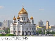 Храм Христа Спасителя (2010 год). Стоковое фото, фотограф Любовь Викторова / Фотобанк Лори