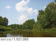 Купить «Летний солнечный день, река Большая Кокшага», фото № 1921089, снято 25 июля 2010 г. (c) Емельянов Валерий / Фотобанк Лори