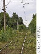 Железнодорожная платформа красная горка. Стоковое фото, фотограф Вячеслав Иванов / Фотобанк Лори