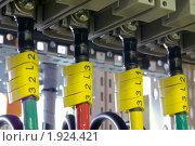 Купить «Промышленное электрооборудование. Внутреннее оборудование силовых электрических шкафов», фото № 1924421, снято 4 июня 2007 г. (c) Юрий Кобзев / Фотобанк Лори