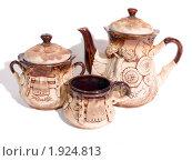 Купить «Чайный сервиз», фото № 1924813, снято 21 августа 2010 г. (c) Исаев Михаил / Фотобанк Лори