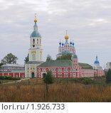 Купить «Санаксарский монастырь в осенний пасмурный день», фото № 1926733, снято 20 сентября 2008 г. (c) Ельцов Владимир / Фотобанк Лори
