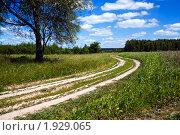 За городом. Стоковое фото, фотограф Андрей Комаров / Фотобанк Лори