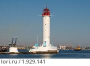Одесский маяк. Стоковое фото, фотограф Некрасов Андрей / Фотобанк Лори