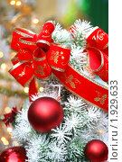 Купить «Новогодние украшения», фото № 1929633, снято 16 декабря 2007 г. (c) Ольга Липунова / Фотобанк Лори