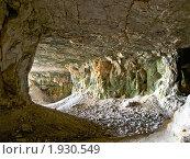 Заброшенные каменоломни. Село Ширяево, Самарская область (2010 год). Редакционное фото, фотограф Liseykina / Фотобанк Лори