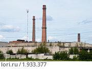 Купить «Трубы городских котельных», фото № 1933377, снято 24 августа 2010 г. (c) Олег Тыщенко / Фотобанк Лори