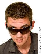 Мужчина в солнцезащитных очках. Стоковое фото, фотограф Оксана Якупова / Фотобанк Лори
