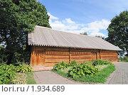 Купить «Деревянная постройка, Коломенское», фото № 1934689, снято 21 августа 2010 г. (c) Игорь Жильчиков / Фотобанк Лори