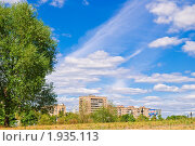 Купить «Облака над городом», эксклюзивное фото № 1935113, снято 21 августа 2010 г. (c) Алёшина Оксана / Фотобанк Лори