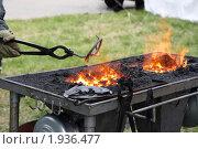 Купить «Кузнечный горн», фото № 1936477, снято 12 июня 2010 г. (c) Анатолий Косолапов / Фотобанк Лори
