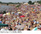 Купить «Пляж на озере Яровое», фото № 1936485, снято 17 июля 2010 г. (c) Александр Литовченко / Фотобанк Лори