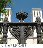Купить «Церковь Святого Петра. Фрагмент ограды», фото № 1940489, снято 23 июня 2009 г. (c) Морковкин Терентий / Фотобанк Лори