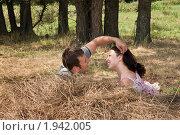Влюбленная пара. Стоковое фото, фотограф Игорь Штро / Фотобанк Лори