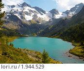 Купить «Республика Алтай. Озеро Поперечное», фото № 1944529, снято 22 августа 2010 г. (c) Andrey M / Фотобанк Лори