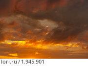 Купить «Багряный закат», фото № 1945901, снято 2 сентября 2010 г. (c) E. O. / Фотобанк Лори