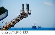 Платформа в море. Стоковое фото, фотограф igor faustov / Фотобанк Лори