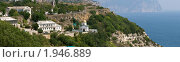Купить «Панорама мыса фиолент в Крыму и монастыря», фото № 1946889, снято 25 июня 2019 г. (c) Ковалев Василий / Фотобанк Лори