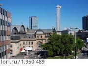 Купить «Франкфурт-на-Майне, вид на город с моста», фото № 1950489, снято 1 января 2006 г. (c) Maria Kuryleva / Фотобанк Лори