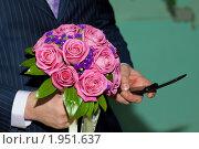 Свадебный букет. Стоковое фото, фотограф Павличенко Наталья / Фотобанк Лори