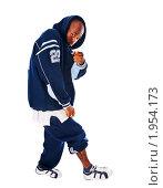 Купить «Хип-хоп исполнитель», фото № 1954173, снято 31 июля 2008 г. (c) Никита Буйда / Фотобанк Лори