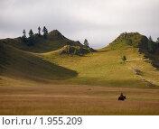 Купить «Хмурое утро в горах», фото № 1955209, снято 17 августа 2010 г. (c) Andrey M / Фотобанк Лори