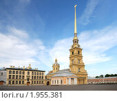 Купить «Петропавловский собор (Санкт-Петербург)», фото № 1955381, снято 22 мая 2010 г. (c) Дмитрий Яковлев / Фотобанк Лори