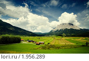 Горная долина, фото № 1956289, снято 29 июля 2008 г. (c) Наталия Кленова / Фотобанк Лори