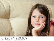 Портрет девочки. Стоковое фото, фотограф Ольга Полякова / Фотобанк Лори