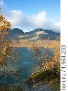Купить «Хибины.Озеро Малый Вудъявр», фото № 1964233, снято 9 сентября 2010 г. (c) Александр Романов / Фотобанк Лори