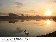 Купить «Утро над озером», фото № 1965417, снято 1 сентября 2009 г. (c) Александр Мишкин / Фотобанк Лори