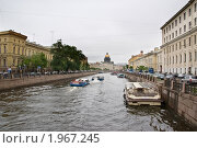 Набережная Санкт-Петербурга (2010 год). Редакционное фото, фотограф Елена Элевтерова / Фотобанк Лори