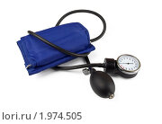 Купить «Медицинский тонометр», фото № 1974505, снято 4 сентября 2010 г. (c) Антон Стариков / Фотобанк Лори