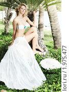 Купить «Летняя невеста», фото № 1975477, снято 24 августа 2010 г. (c) Ольга Хорошунова / Фотобанк Лори