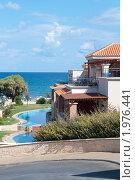 Купить «Отель. Остров Крит. Греция», фото № 1976441, снято 12 сентября 2010 г. (c) Екатерина Овсянникова / Фотобанк Лори