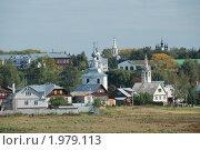 Купить «Суздаль. Панорама города. Вид со смотровой площадки», эксклюзивное фото № 1979113, снято 11 сентября 2010 г. (c) lana1501 / Фотобанк Лори