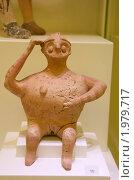 Купить «Ритон в форме беременной женщины. Археологический музей Ираклиона», эксклюзивное фото № 1979717, снято 17 августа 2010 г. (c) Щеголева Ольга / Фотобанк Лори