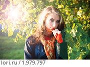 Купить «Осенний портрет», фото № 1979797, снято 9 октября 2009 г. (c) Вероника Галкина / Фотобанк Лори