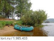 Купить «Лодка на реке. (р. Реня, тверская область,г. Весьегонск)», фото № 1985433, снято 9 августа 2010 г. (c) Елена Азарнова / Фотобанк Лори
