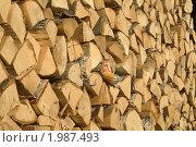 Дрова. Стоковое фото, фотограф Владимир Зорин / Фотобанк Лори