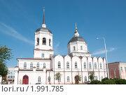Воскресенский монастырь, Томск. Стоковое фото, фотограф Виктор Выдрин / Фотобанк Лори