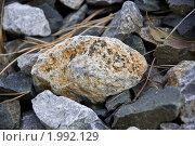 Камень дорожный. Стоковое фото, фотограф Виктор Выдрин / Фотобанк Лори