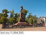 Купить «Иркутск. Памятник императору Александру III», фото № 1994393, снято 23 августа 2010 г. (c) Роман Коротаев / Фотобанк Лори